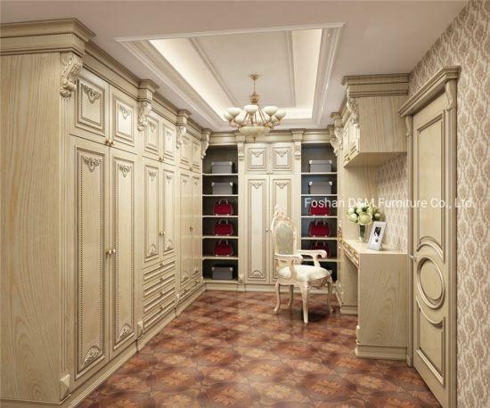 Modern Home Wood Sliding Door Bedroom Furniture Cloth Storage Wardrobe (DM2019)