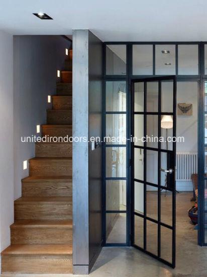 China Elegent Modern Style Interior Iron Doors China French Steel
