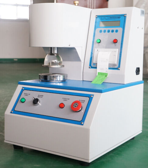 Digital Packaging Material Burst Strength Test Machine pictures & photos