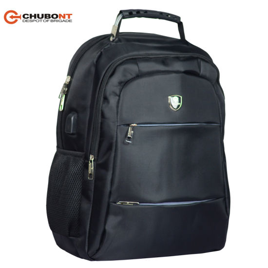Chubont External USB Charge Computer Business Conference Padded Laptop Backpack