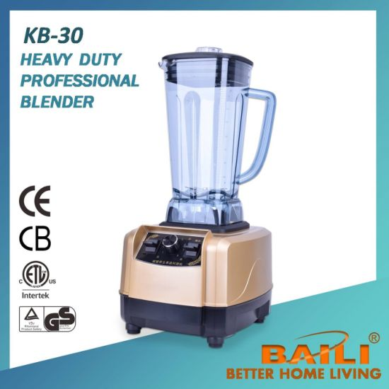 Heavy Duty Professional Blender with Variable Speed Control pictures & photos