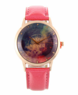 Alloy Case Watch Genuine Leather Watch Cute Wrist Fashion Watches for Ladies pictures & photos