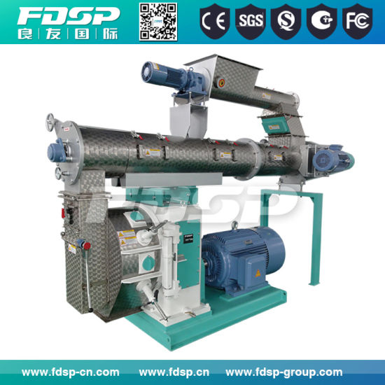 Feed Pellet Granulator with High Quality Ring Die pictures & photos