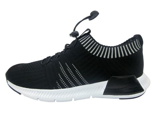 Men Athletic Shoes Comfortable Flyknit Material Workout Shoes