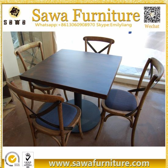 China Hot Sale Factory Price Used Restaurant Table China - Restaurant table price