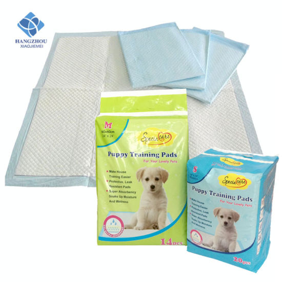 Quick Dry Odor Control Super Absorbent Pet Puppy Training PEE Pads pictures & photos