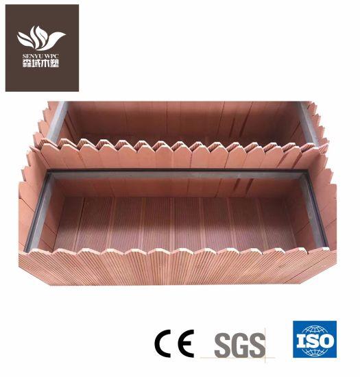 Wood Plastic Composite Decking for Park Flower Box