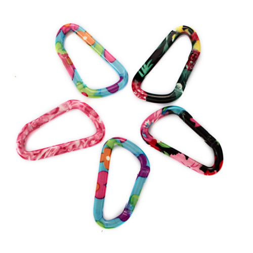 Colorful Aluminum Mini Carabiner Clip Wholesale Clips pictures & photos