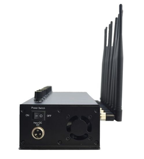 Adjustable 8 Antennas Desktop Cell Phone WiFi GSM Signal Jammer pictures & photos