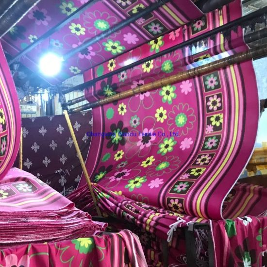 Chinese Supplier 100% Polyester Microfiber Pigment Print Fabric for Thailand