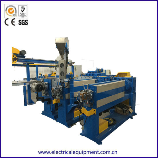 China CATV Coaxcial Wire and Cable Extruding Machinery - China ...