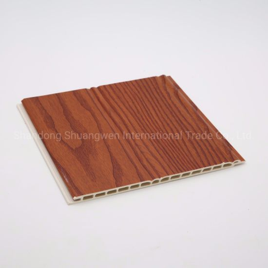 PVC Film Laminated Indoors WPC Wall Panel