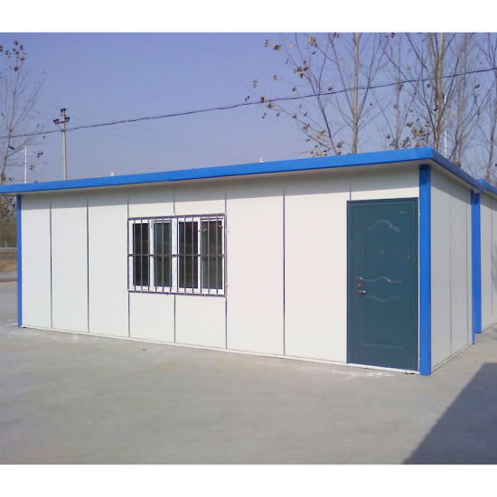 Light Steel Keel House with Papered Gypsum Board Partition pictures & photos