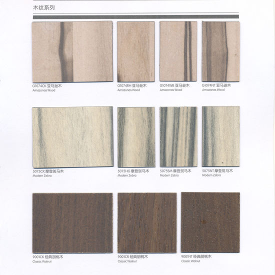 Gentil Professional Wood Grain Decorative Finish HPL Panel/ Laminate Sheets For  Furniture Surface