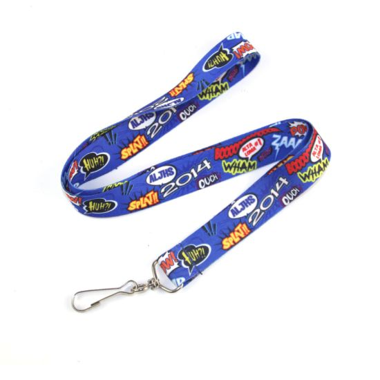 Hot Sale Nice Full Color Custom Dye Sublimation Lanyards