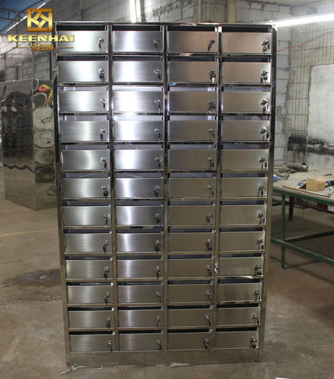 Custom Outdoor Stainless Steel Contemporary Mailboxes ...