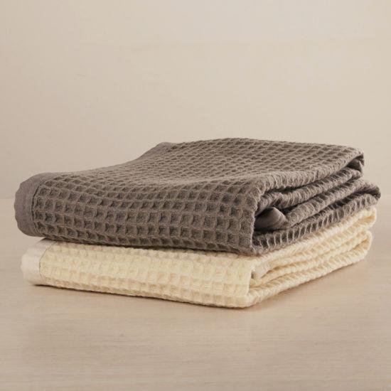 Luxury Waffle Weave Australian Wool Blanket