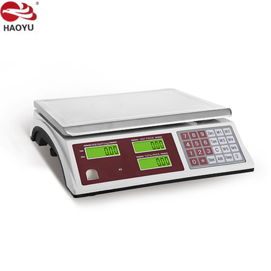 Electronic Price Scale in Weighing System Acs Series 30kg