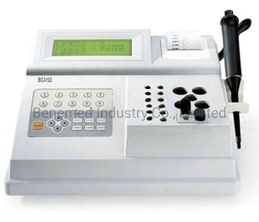 Medical Equipment Semi Auto Coagulation Analyzer for Hospital Use