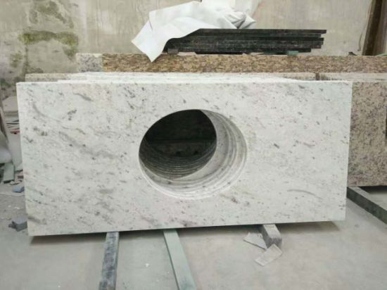 Exclusive Andromeda White Granite for Kitchen Countertop Bathroom Vanitytop pictures & photos