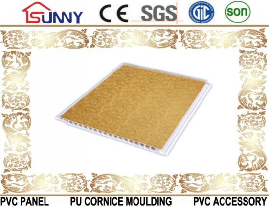 Transfer Printing PVC Panel Used for Ceiling and Wall Decoration pictures & photos