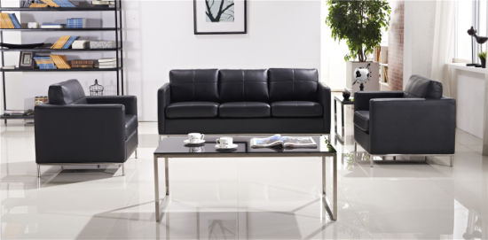 New model leisure affordable home stainless steel leg sofa