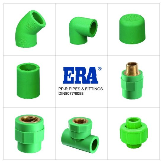 PPR Pipe Fittings DIN Standard Combining Joint