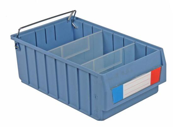 china unbreakable pp plastic storage bins for warehouse china