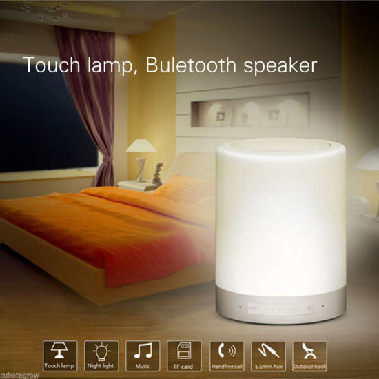 High Quelity Super Bass Portable LED Bluetooth Speaker Whith TF Card pictures & photos