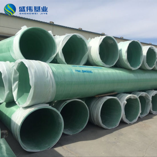 Large Diameter 1000mm GRP Pipes FRP Plastic Pipes pictures & photos