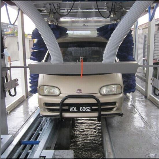 China Car Wash System Fully Automatic Tunnel Car Wash Machines For