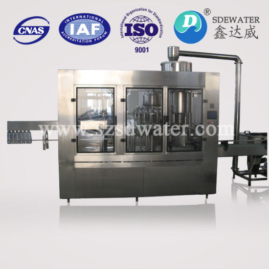 40-40-10 Mineral Water Automatic Filling Machine