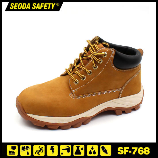 High Quality Cement Nubuck Safety Footwear pictures & photos