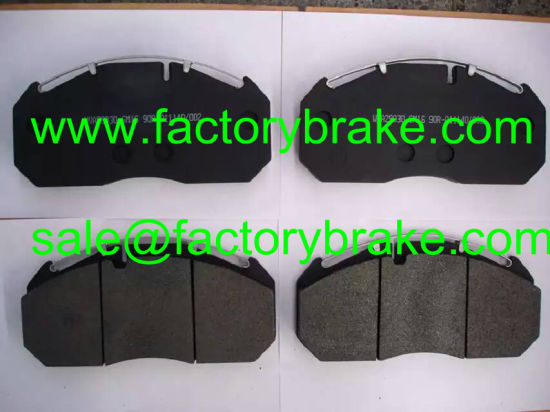 for Mercedes-Benz Truck/Bus Brake Pad Wva 29030/2908328004134224/Dcv760b/Fcv760b/Mdp760 pictures & photos