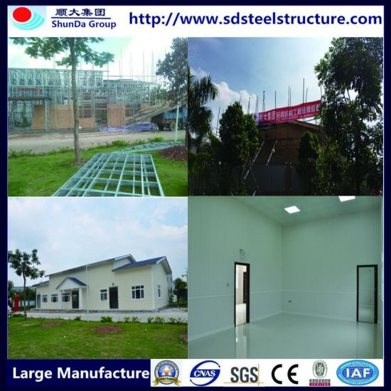 Australia Standard Modular Luxury Prefabricated Steel Frame Houses/Villa/Homes pictures & photos
