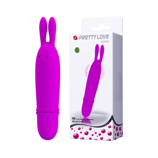 Rabbit Vibrator Silicone Waterproof 10 Speeds Bullet Dildo Vibrators Sex Products for Women Adult Sex Toys