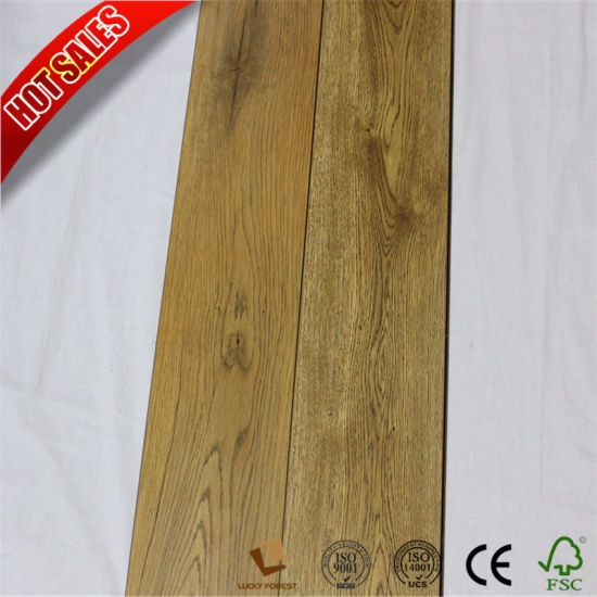 China Best Price Style Selections Laminate Flooring Beveled V Groove