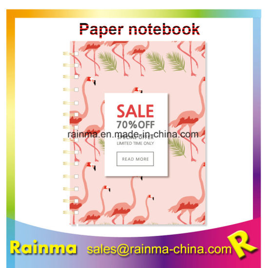 Hot Sale School Custom spiral Notebook, Paper Notebook pictures & photos