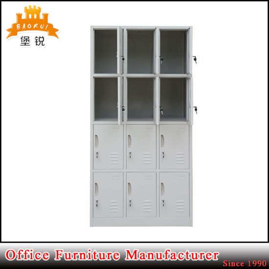 Knock Down Structure 12 Door Metal Locker pictures & photos
