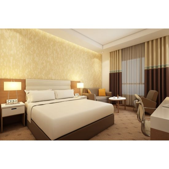 Hotel Furniture USA Room Furniture Packages MDF and Plywood Bedroom Sets  with Laminate