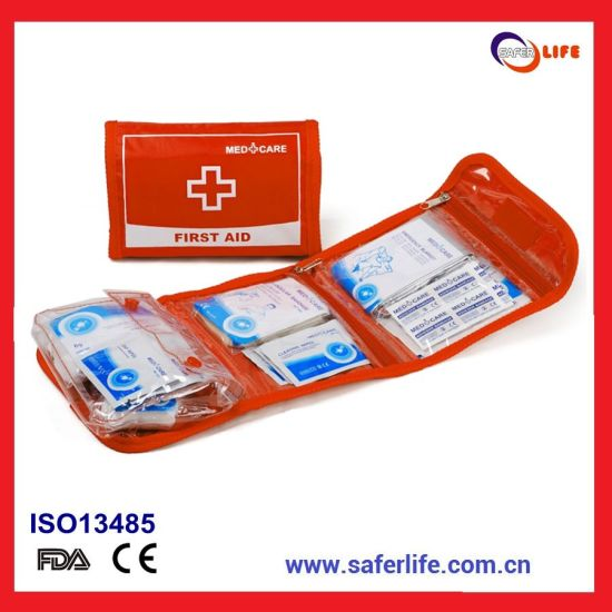 2019 Wholesale Medical Mini Pocket Outdoor Golf Micro Plaster Travel Promotional Portable First Aid Bag Gift Set Kit