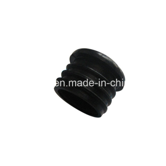 Injection Mould Pipe Fittings Heat Resistant Nylon Plastic Flange End Cap / Tube Insert pictures & photos