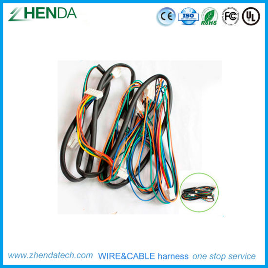 china deutsch amp jst connector medical equipment wire wiring harness process flow chart case studies in wire harness assembly
