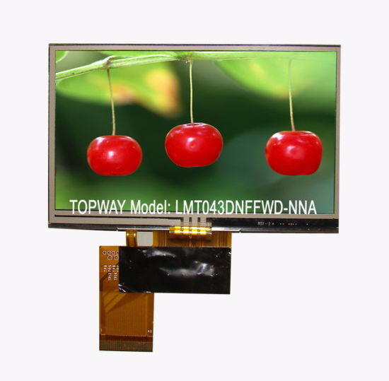 4.3 Inch 480X272 Color TFT LCD Display Module