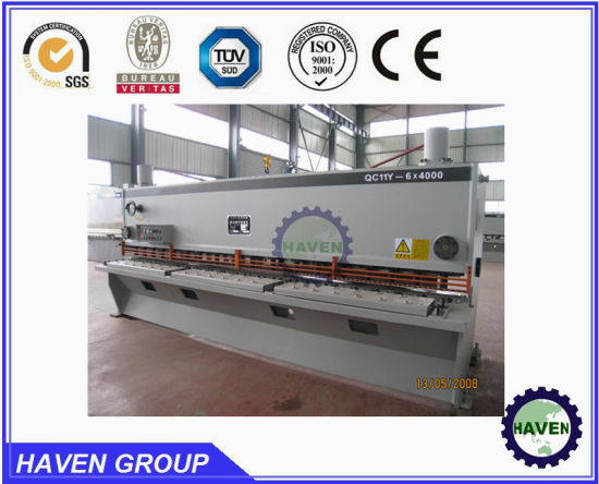 HAVEN QC11Y-20*2500 Hydraulic Guillotine Shearing Machine with ISO Certificate pictures & photos