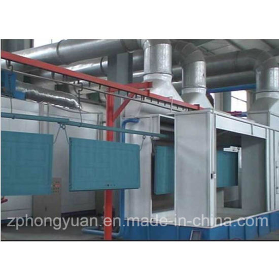 Powder Coating Equipment for Metal Fence