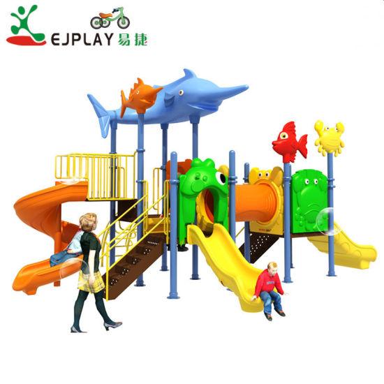 Slide Supplier Popular LLDPE Plastic Slide Child Playground Outdoor