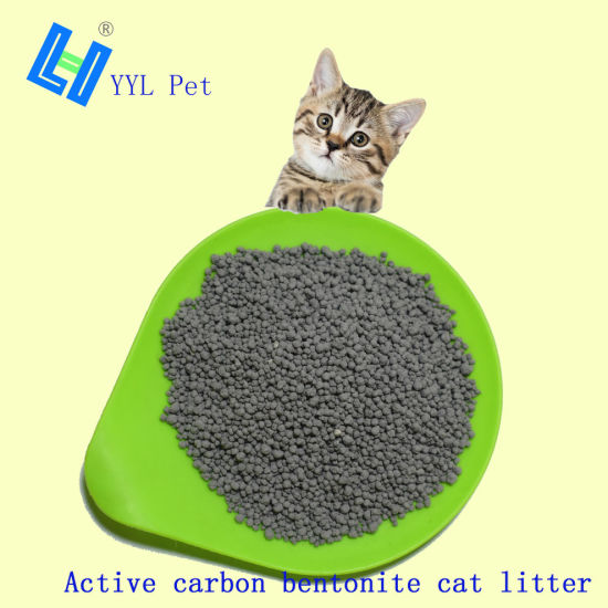 Active Carbon Bentonite Cat Litter (YYLB02)