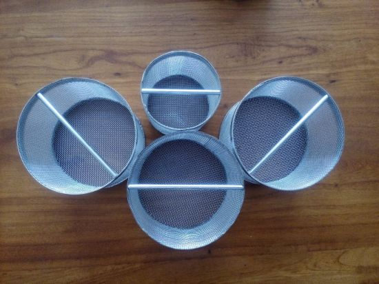 Stainless Steel Cylinder Wire Cloth Strainer with Single Open End pictures & photos