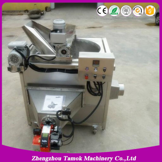 Snack Food Fryer with Oil Filter Automatic Continuous Batch Fryer